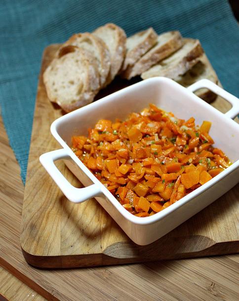 Aperitivo de cenoura