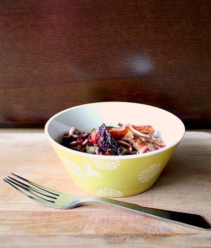 salada de legumes assados I