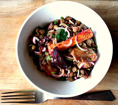salada de legumes assados II