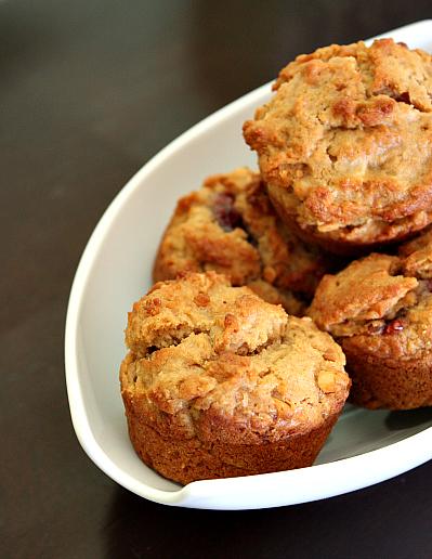 pb&j muffins 1